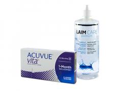 Acuvue Vita (6 lenzen) + Laim-Care 400 ml