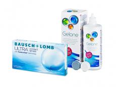 Bausch + Lomb ULTRA (6 lenzen) + Gelone 360 ml