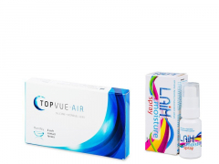 TopVue Air (6 lenzen) + Laim Moisture Oogspray