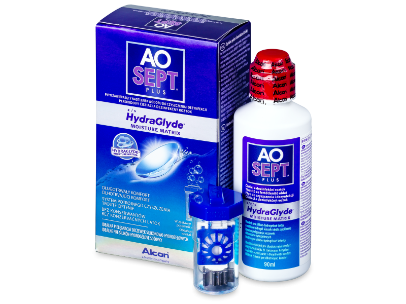 AO SEPT PLUS HydraGlyde Lenzenvloeistof 90 ml