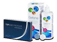 TopVue Premium (6 lenzen) + Gelone 360 ml