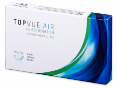TopVue Air for Astigmatism (3 lenzen)