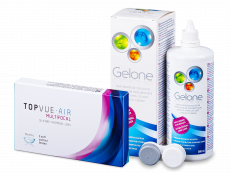 TopVue Air Multifocal (3 lenses) + Gelone 360 ml
