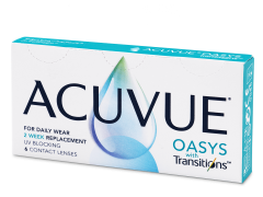Acuvue Oasys with Transitions (6 lenzen)