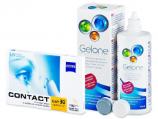 Carl Zeiss Contact Day 30 Spheric (6 lenzen) + Gelone Lenzenvloeistof 360 ml