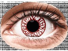 ColourVUE Crazy Lens - Blood Shot - zonder sterkte (2 gekleurde daglenzen)