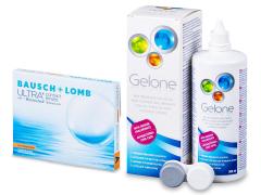 Bausch + Lomb ULTRA for Astigmatism(3 lenzen) + Gelone 360 ml