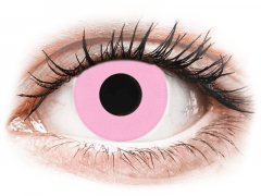 CRAZY LENS - Barbie Pink - met sterkte (2 gekleurde daglenzen)