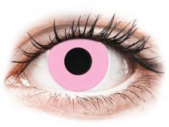 CRAZY LENS - Barbie Pink - zonder sterkte (2 gekleurde daglenzen)