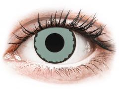 CRAZY LENS - Zombie Virus - met sterkte (2 gekleurde daglenzen)
