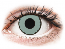 CRAZY LENS - Zombie Virus - zonder sterkte (2 gekleurde daglenzen)