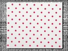 Schoonmaakdoekje voor brillen - rode polkadots