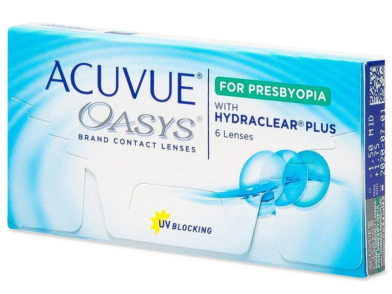 Acuvue Oasys for Presbyopia (6 lenzen)