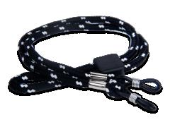 Zwart-witte strap voor brillen