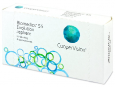 Biomedics 55 Evolution (6 lenzen)