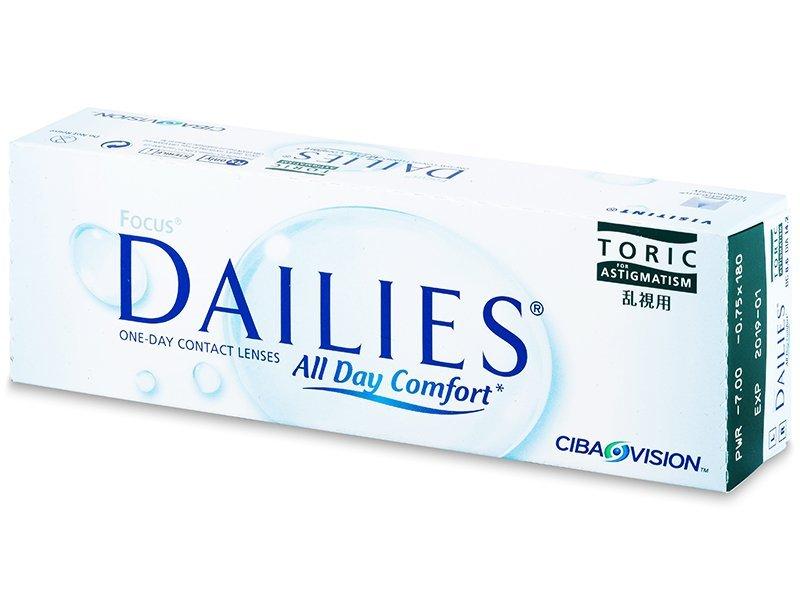 Focus Dailies Toric All Day Comfort (30lenzen)