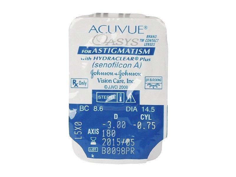 Acuvue Oasys for Astigmatism (6lenzen)