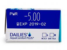 Dailies Aquacomfort Plus (30lenzen)
