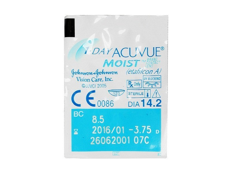 1 Day Acuvue Moist (90 lenzen)