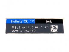 Biofinity XR Toric (3 lenzen)