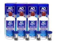 AO SEPT PLUS HydraGlyde Lenzenvloeistof 4x360ml