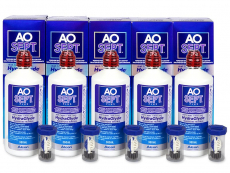 AO SEPT PLUS HydraGlyde Lenzenvloeistof 5x360 ml